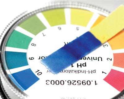کربنات کلسیم pH, فرمول شیمیایی, CaCO3